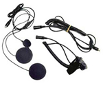 """Midland AVP-H2, The Midland AVPH2 is a motorcycle microphone set that allows for easy communication between a motorbike rider and his or her passenger, even when driving at high speeds"