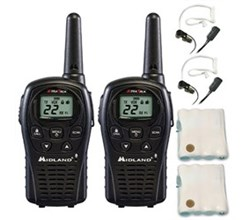 LXT Radios midland lxt500vp3 accessory bundle